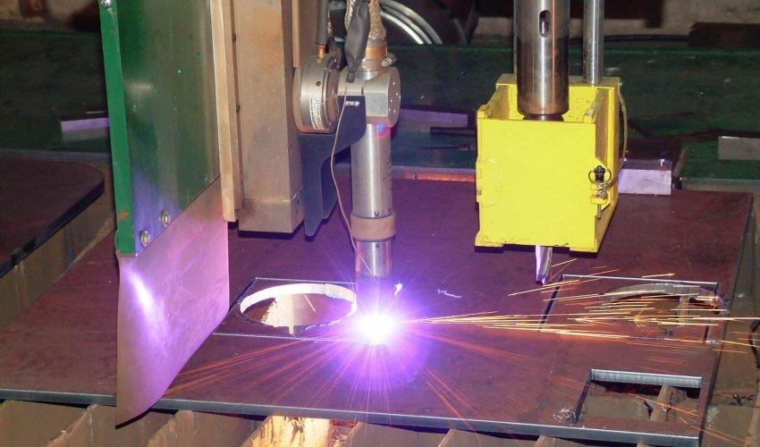 FAB Services Equipment CNC Plasma Cutting
