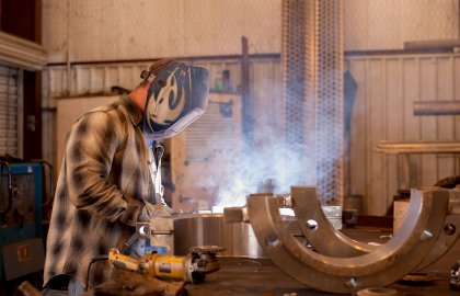 FAB Services Employees Welding